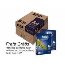 Papel Sulfite A4 75grs Caixa Com 10 Resmas - Frete Grátis