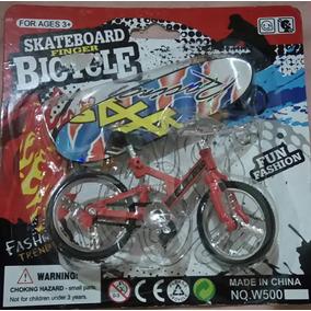 Skate E Bicicleta De Dedo. Frete Gratis