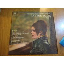 Javier Solis - Los Mas Grandes Exitos Vol. Ii- Vinilo