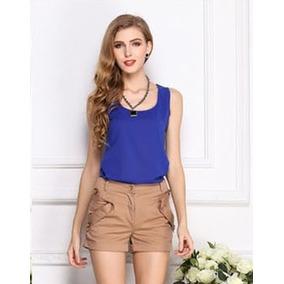 Blusa Básica / Camiseta / Top Várias Cores E Tamanhos