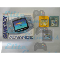 Vendo Gba Incluye 3 Juegos Pokemon Yellow, Crystal, Silver