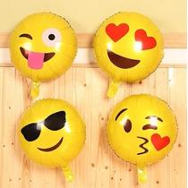 Globo Metalico Emojis Helio 13rf