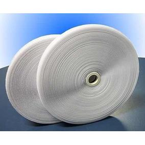 Velcro Branco Simples 2,5cm Rolo Completo Par Macho Fêmea