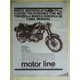 Moto Jawa Publicidad Del Año 1961