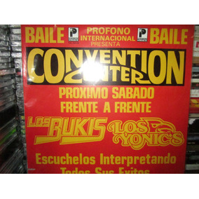 Los Bukis Vs Los Yonics Disco Lp Raro De Coleccion