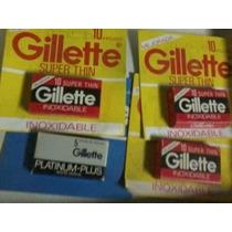 Hojas De Afeitar Gillette Roja