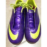 Botines Nike Mercurial 36.5 Excelente Estado Ver Fotos