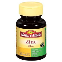 Nature Made Zinc 30 Mg 100 Comprimidos