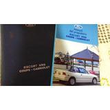 Ford Escort Coupe Cabriolet Xr3 Manual De Mantenimiento