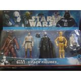 Muñecos Star Wars X 5 Pack Lote De Figuras Articuladas R2d2