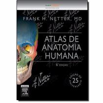 Atlas De Anatomia Humana Netter 6ª Edição Medicina Saúde Top