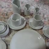 Jarrito K Con Plato Porcelana No Verbano X 4