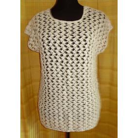 Remera/sweater/blusa/chaleco Tejido Crochet Artesanal