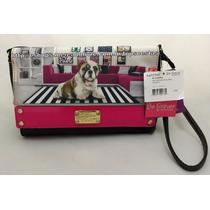 Bolsa Feminina Cachorro Bulldog Stripes Original Rafitthy