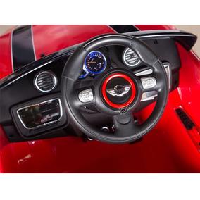 Carrito Electrico Montable Mini Cooper 2017 Rojo