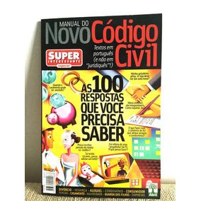 Manual Do Novo Código Civil Superinteressante Frete Grátis
