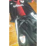 River Plate Niños Nuevos Camiseta+short Negra Conmemorativa