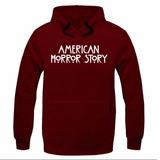 Moletom American Horror Story Promoção Agasalho Blusao