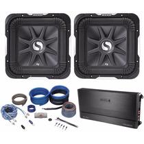 Kit De Amplificador (2) Kicker S10l7-4 10 2400w