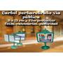 Cartel Municipal Portaretratos Impresos Full Color Laserjet
