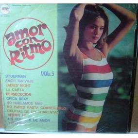 Disco Compilado De Los 80 Amor Con Ritmo Vol.5