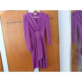 Vestido Violeta Talle 46 Para Madrinas, Casamientos, Etc...