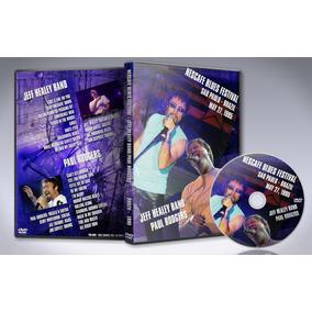 Dvd Paul Rodgers & Jeff Healey - Nescafe Blues Fest. 1995