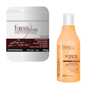 Bottox Capilar Argan E Shampoo Force Repair Home Care