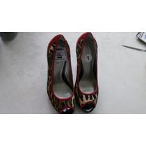 Sapato Salto Alto Estilo Oncinha Original