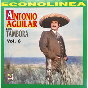 Cd Antonio Aguilar Con Tambora Vol 6