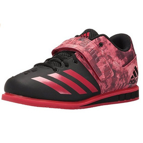 Tenis adidas Powerlift Trainer 3 Alterofilia Negro Rojo