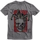 Camiseta Personalizada Old School Joker Baralho Coringa