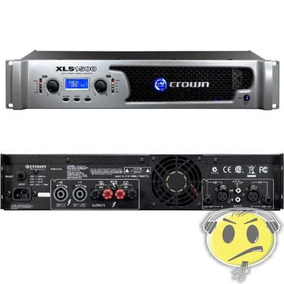 Amplificador Potência Crown Xls1500 1550w 120v - Kadu Som