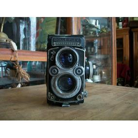 Antigua Cámara De Fotos Rolleiflex 3.5 F