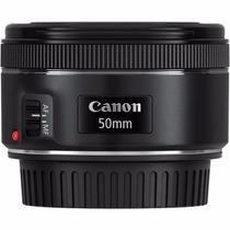 Lente Canon Ef 50mm F/ 1.8 Stm Com Motor De Auto-foco. Stm