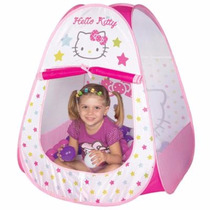 Barraca Infantil Toca Hello Kitty Com 60 Bolinhas Braskit