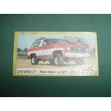 Figurita Antigua Camioneta Chevrolet Blazer Diesel