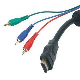 Cable Mini Hdmi Macho A 3 Rca Macho 90 Cm