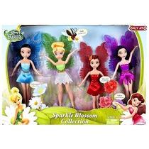 Muñecas Hadas 9 Colección Set De 4 De Disney - Verde