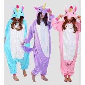 Pijama Mameluco Kigurumi Unicornio Dormir Animal