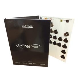 Carta De Colores Tijntura Loreal Majirel Salón Profesional