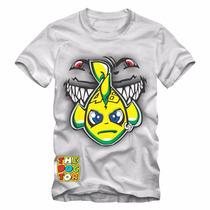 Camiseta Vr46 Tubarão Valentino Rossi - Oferta Relâmpago