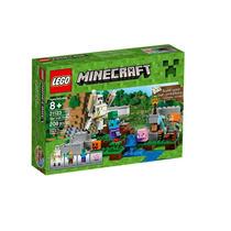Lego Minecraft The Iron Gole 21123 Original