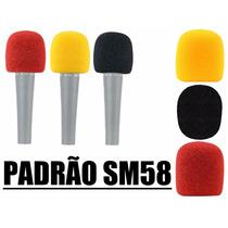 Espuma Para Microfone - Coloridas - Profissional - Sm58