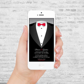 Convite De Casamento Padrinho Digital Top