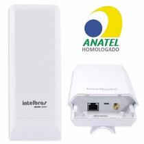 Antena Cpe Intelbras Wom 5000 Mimo 5ghz 14dbi = Nano Loco M5