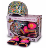 Soy Luna Combo Set Kit Proteccion Casco Rodilleras Coderas