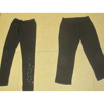 3 Calzas Negras Holamanola, Gap, Negra, Gris T:8/10 Años