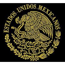 Ponchados Wilcom Escudo Nacional Mexicano Oferta!!!