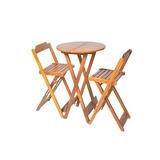 Conjunto Dobravel Bistro Com 2 Cadeiras Bares E Restaurantes